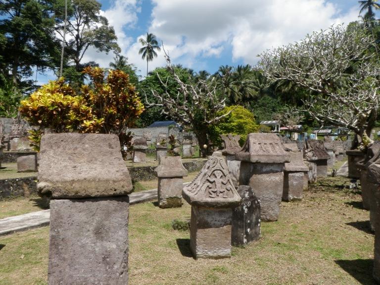 Megalithic Waruga coffins
