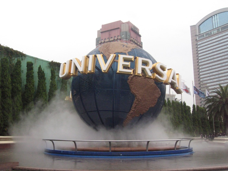 USJ is situated along the Osaka Waterfront