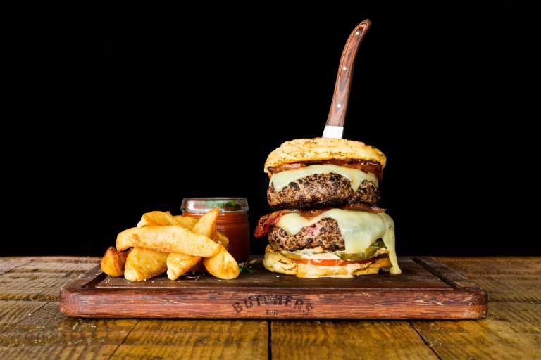 Butcher's Club Burger in Singapore serves up tasty American-themed hamburgers