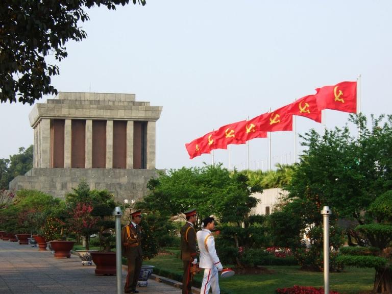 The Mausoleum is a patriotic place