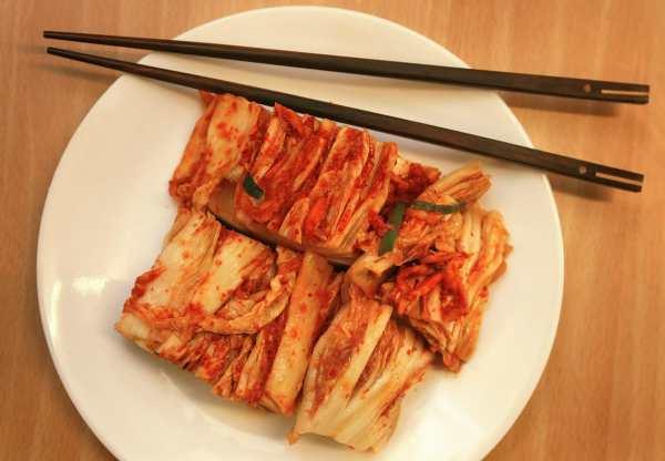 Kimchi is everywhere in Seoul!