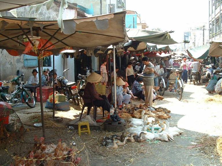 Market in HCMC
