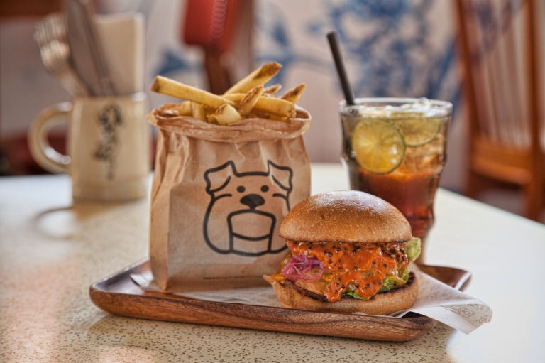 Baby Huey meal at Three Buns by Potato Head Folk
