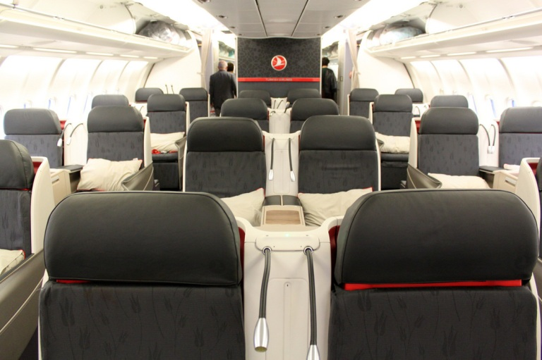Business Class on TK's A330s