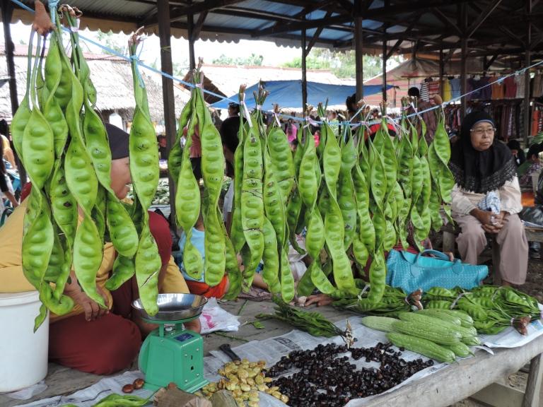 Market day in Bukit Lawang seems like every day!
