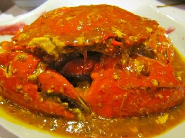 Chili Crab at Maxwell Food Centre