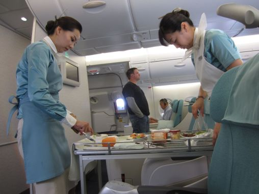 Business Class catering