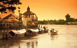 The Kuching Waterfront