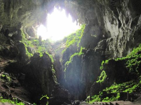 The incredible Fairy Caves in Sarawak