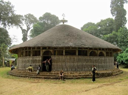 A monastery on Lake Tana