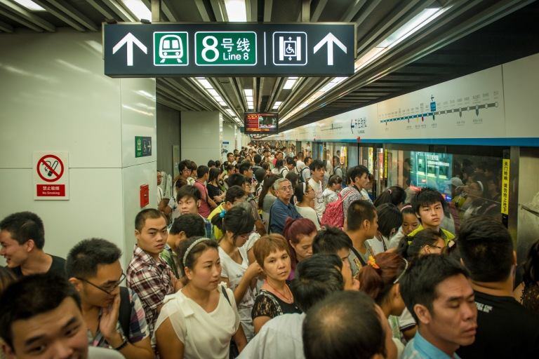 The Beijing Subway is cheap and effective (but very, very crowded)