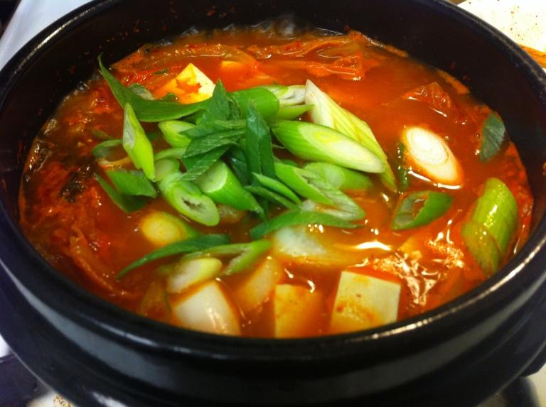 Kimchi Jjigae (stew)