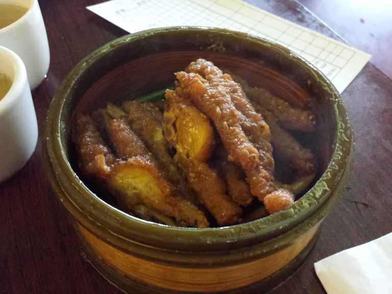 In China, chicken feet are known as Phoenix Claws