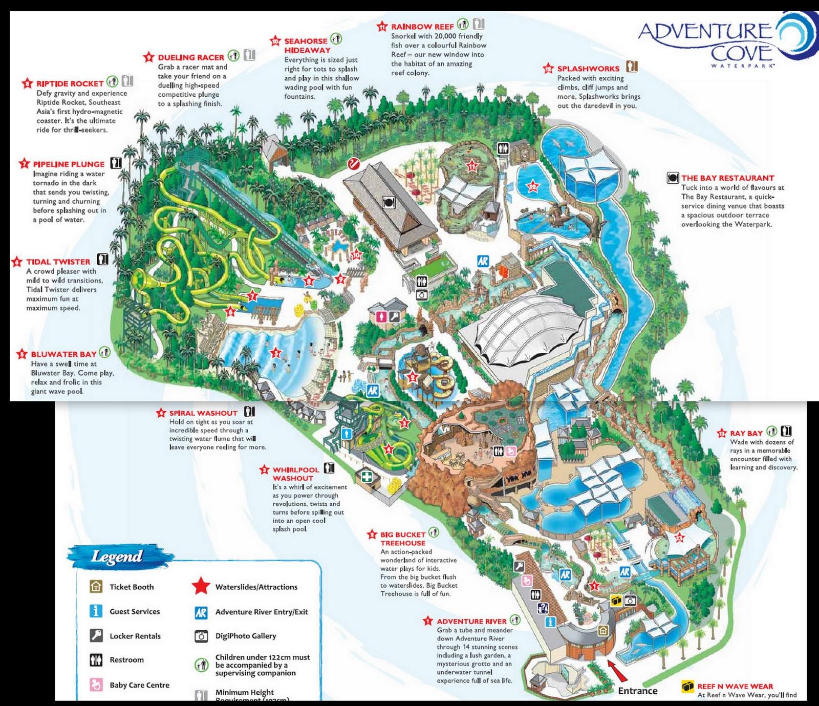 Rws Car Park Map