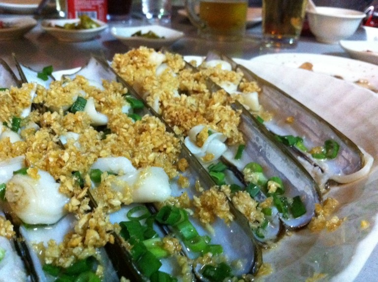 Steamed Bamboo Clam