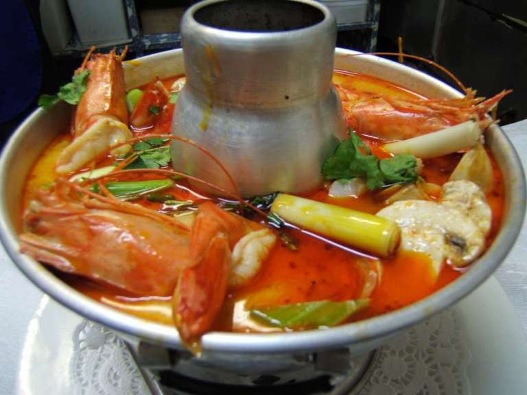 I think that is Tom Yum Soup