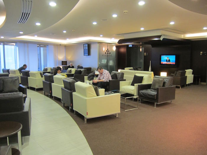 The lounge at London Heathrow