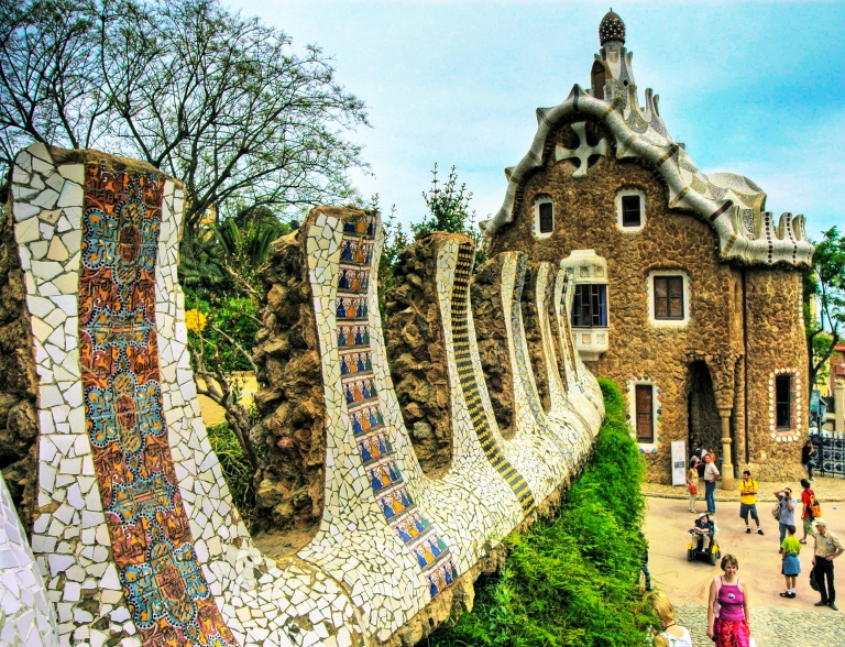 Park Guell is a great city escape