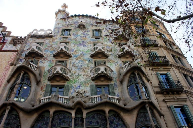 The fairytale façade of Casa Batllo