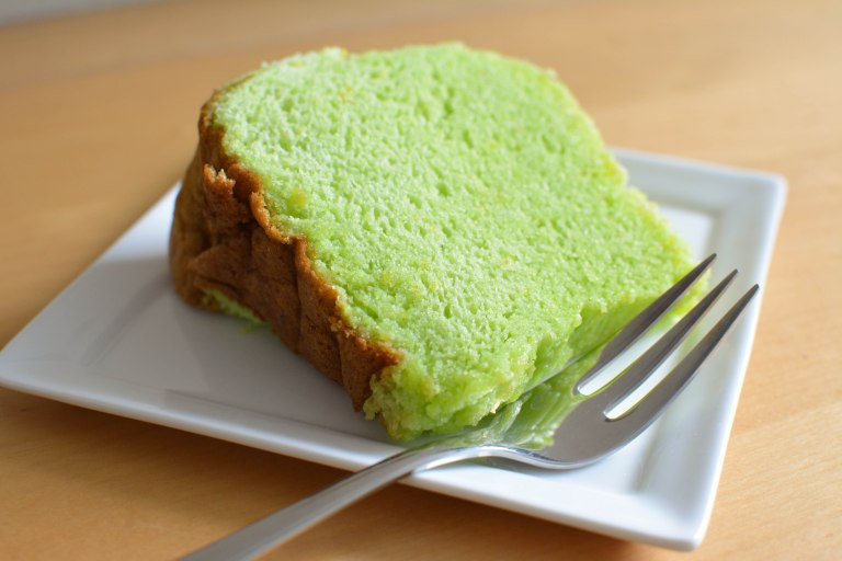 Green Tea Sponge Cake Calories