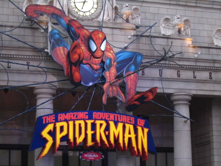 The Amazing Spider-Man is one of my favourite rides