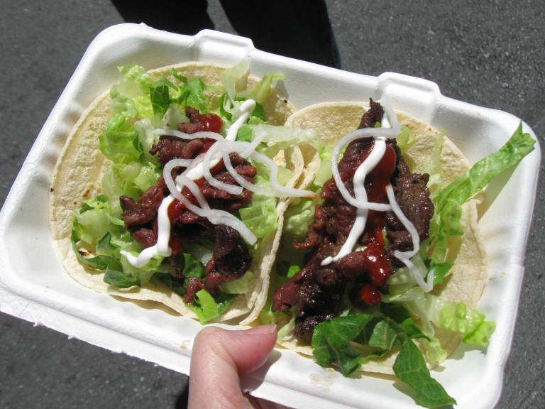 Beef Bulgogi Tacos from South Korea