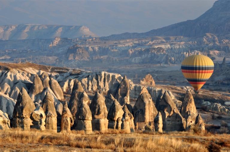 Cappadocia by balloon