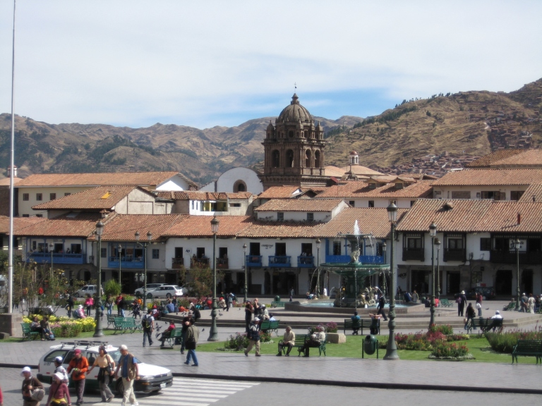 Cusco in Peru is a nice little town