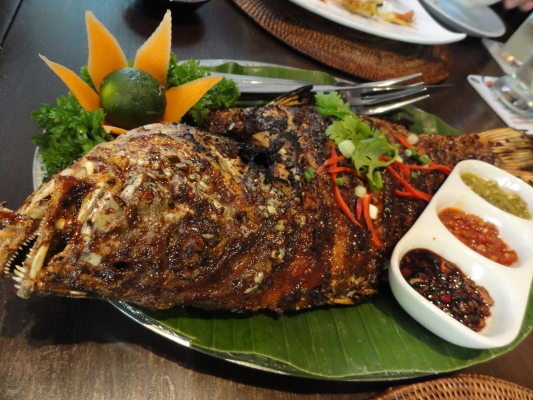 Ikan Bakar is a popular dish in Indonesia as well as Malaysia