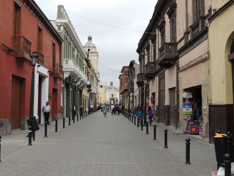 Part of the Historic Centre of Lima