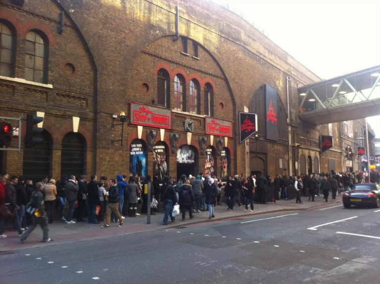 The London Dungeons are tacky and crowded