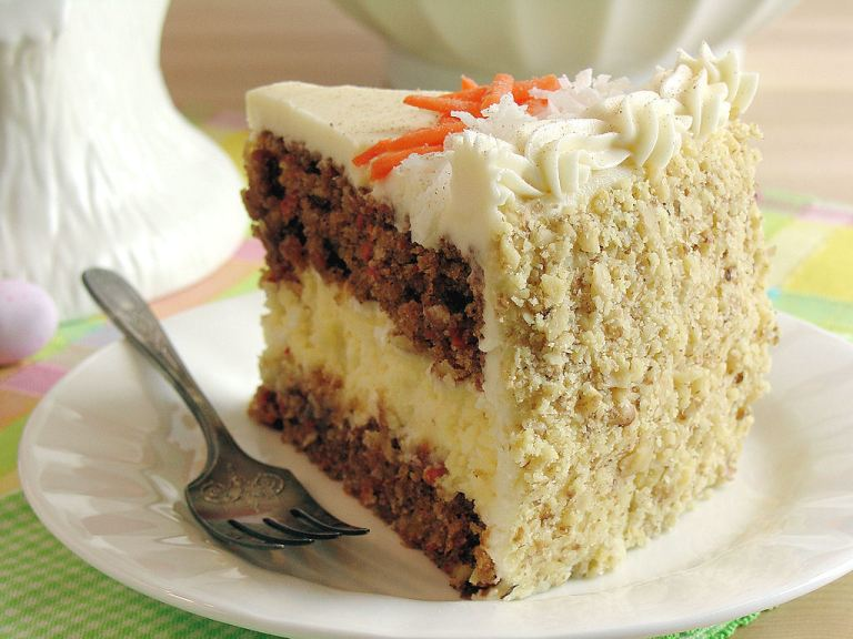 Carrot Cake is continually voted Britain's favourite cake!