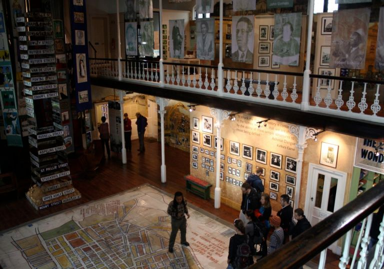Inside the District 6 Museum