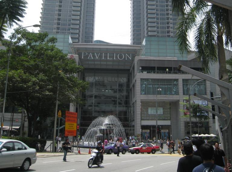 Pavilion Mall in Bukit Bintang