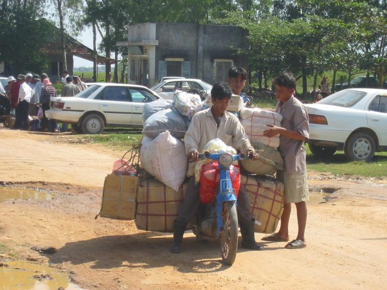 Typical Khmer ingenuity - they would take all that to Siem Reap if you paid them enough!