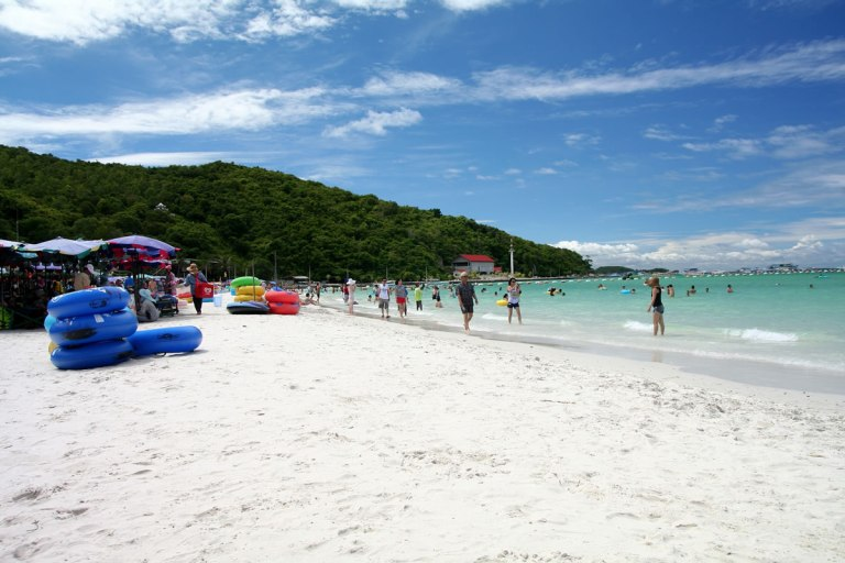 Pattaya has some good beaches, but they are often crowded