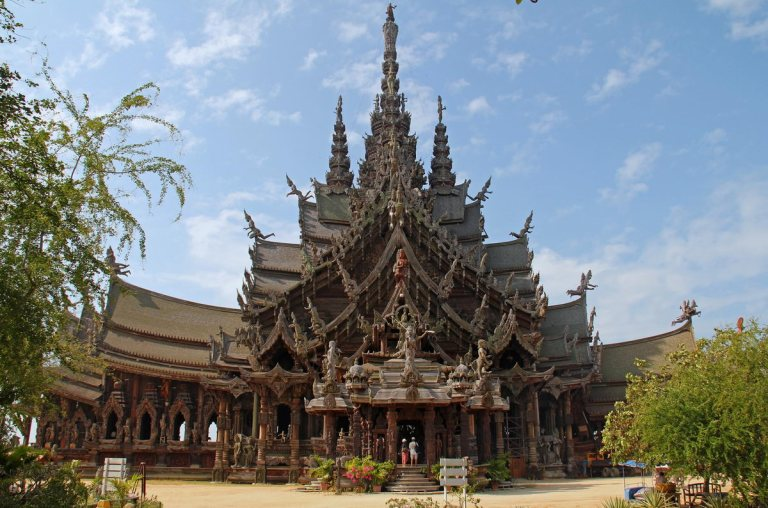 The Sanctuary of Truth is an amazing wat