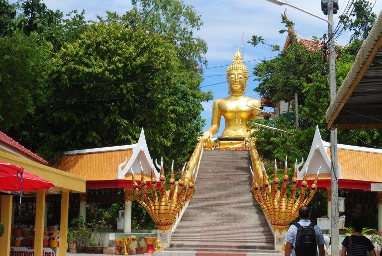 Pattaya's Big Buddha (looks just like any other Big Buddha in Thailand)