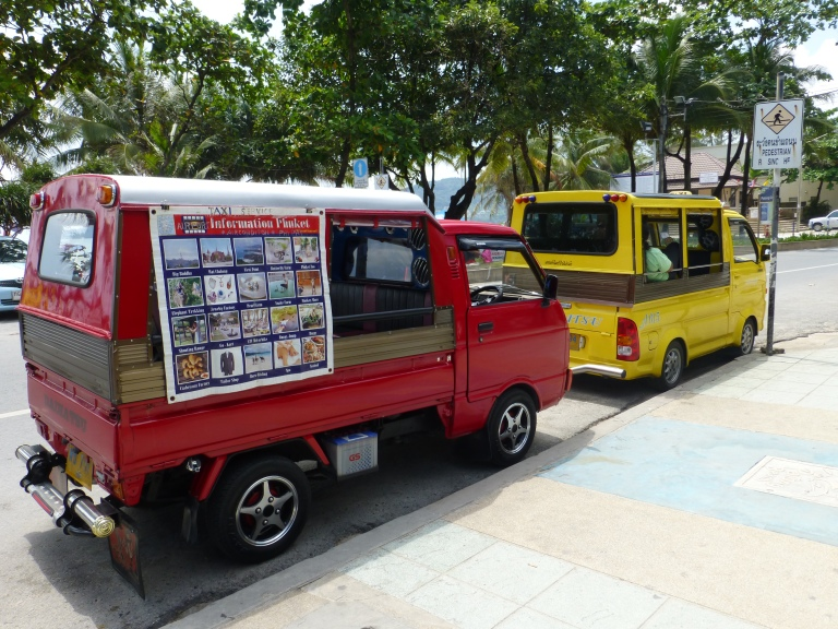 A tuktuk in Phuket