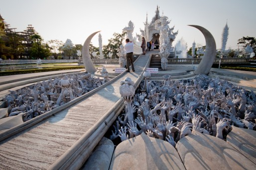 Chiang Rai's infamous Silver Temple
