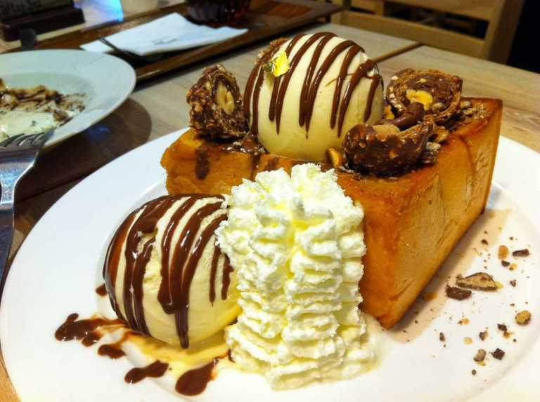Ferrero Shibuya Honey Toast