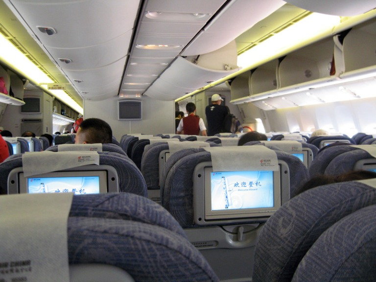 Economy Class aboard Air China