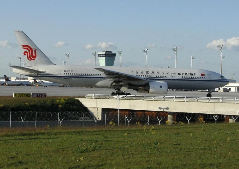 Air China's B777 aircraft