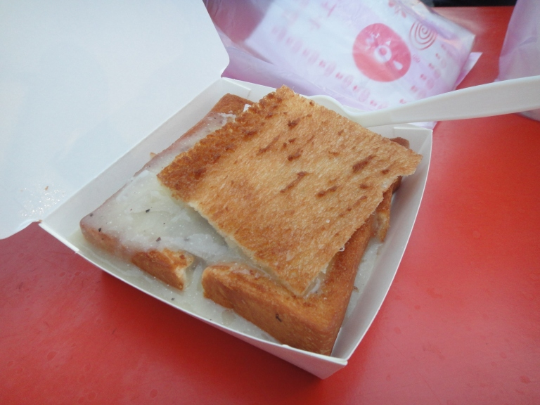 Coffin Toast is popular in Taiwan's night markets