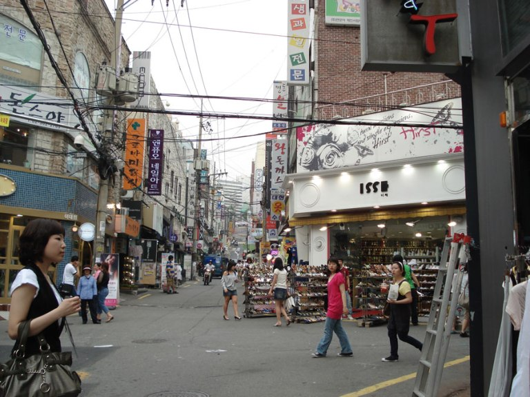 Itaewon seems unremarkable, but it has been taken over by American expats!
