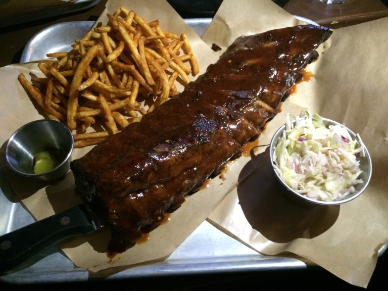 Sumptuous ribs from Linus BBQ!