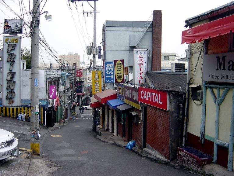 Itaewon's Hooker Hill