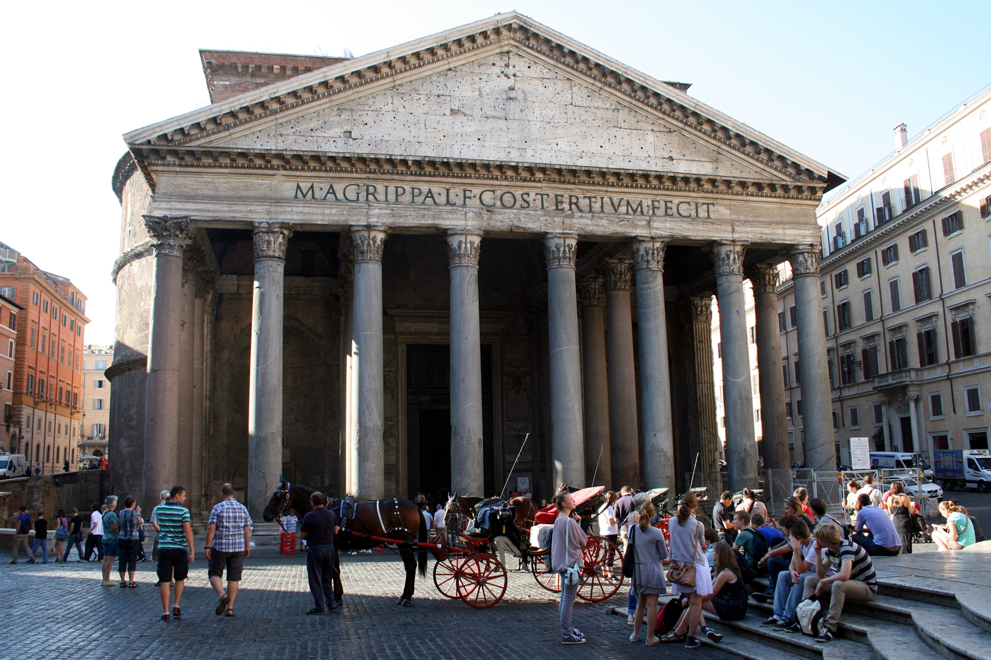 Roman Architecture Pantheon the pantheon, rome – backpackerlee
