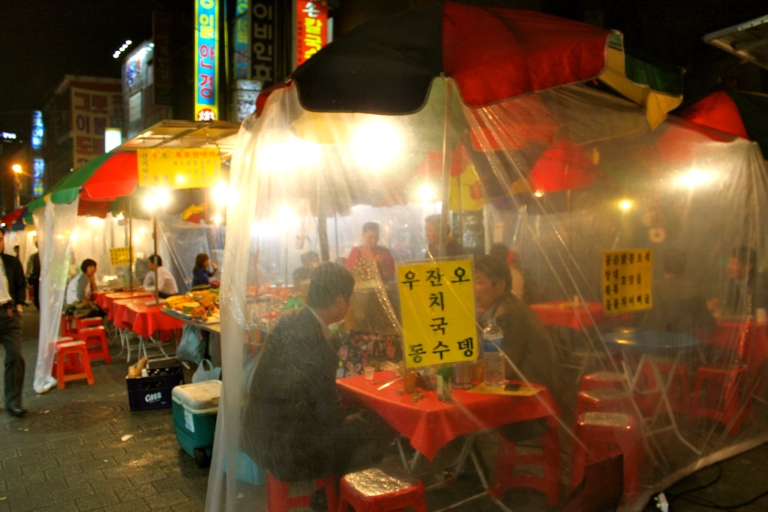 Pojangmacha of Insadong have great food