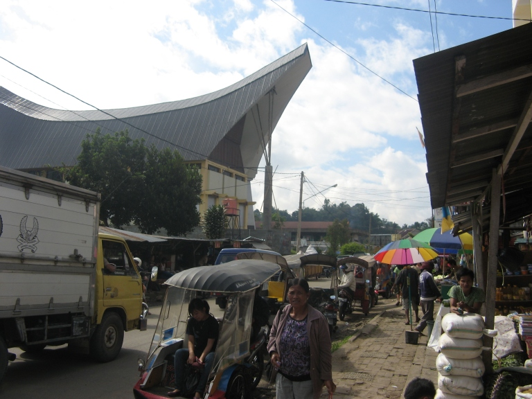Arrival in Rantepao